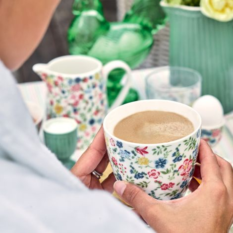 GreenGate Latte Cup Becher Sophia White