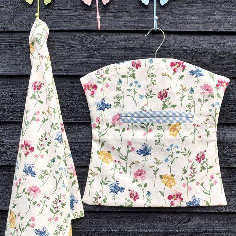 GreenGate Tasche für Wäscheklammern Thilde White