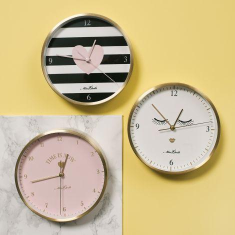 Miss Étoile Uhr für Tisch oder Wand Time is now •