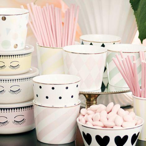 miss toile becher harlequin rosa online kaufen emil paula. Black Bedroom Furniture Sets. Home Design Ideas
