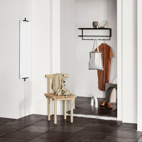 Kristina Dam Studio Grid Garderobe Black
