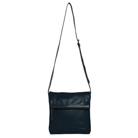 Sticks and Stones Ledertasche Strasbourg Marine Blue Washed •