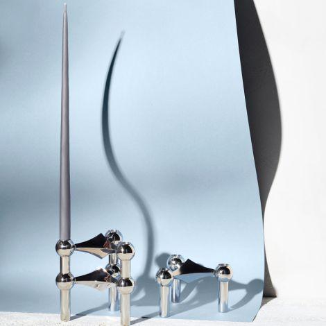 STOFF Nagel Kerze by Ester & Erik Dark Grey 6er-Set