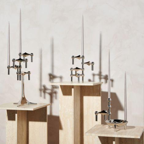 STOFF Nagel Kerze by Ester & Erik Champagne 6er-Set
