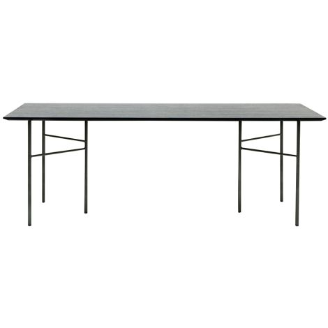 ferm LIVING Tischbeine Mingle W68 Black 2er-Set