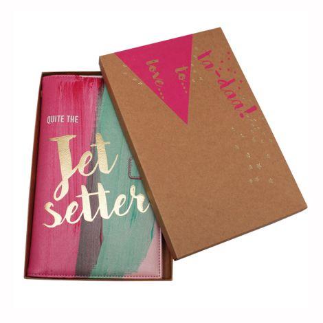 Disaster Designs Travel Wallet Ta-Daa Jet Setter