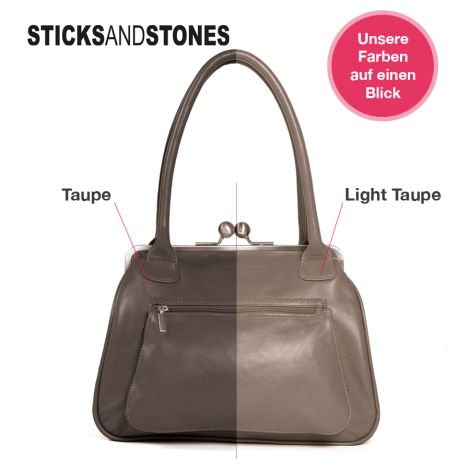 Sticks and Stones Portemonnaie Cancun Taupe •