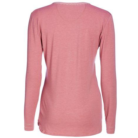 PIP Studio Langarm-Shirt Tekla Melee Pink