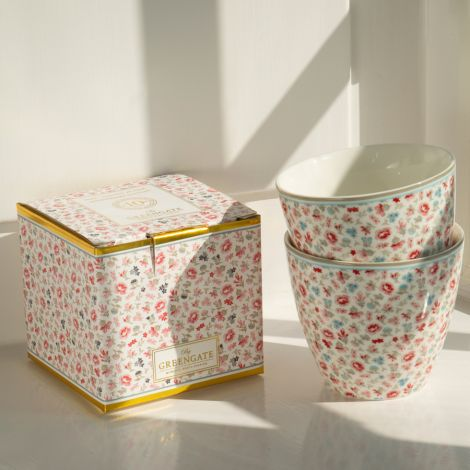 GreenGate Geschenk-Box Tilly White