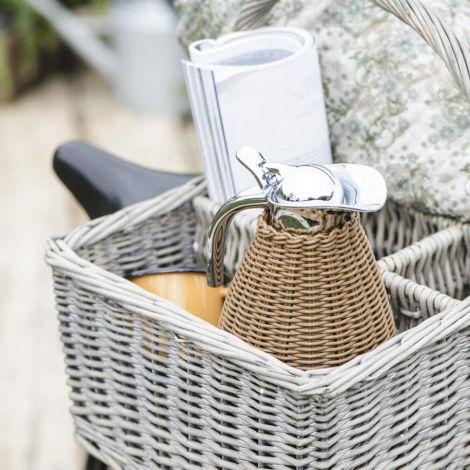 IB LAURSEN Picknickkorb mit 5 Fächern und Henkel