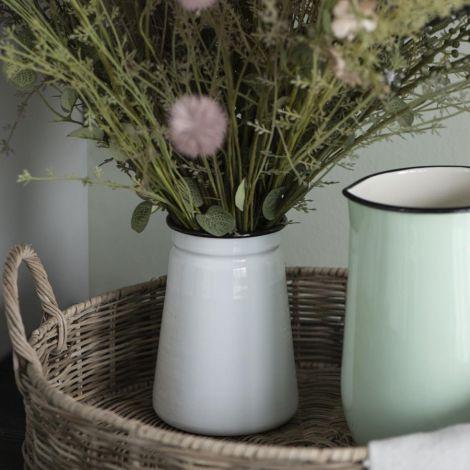 IB LAURSEN Vase Emaille 15,5 cm