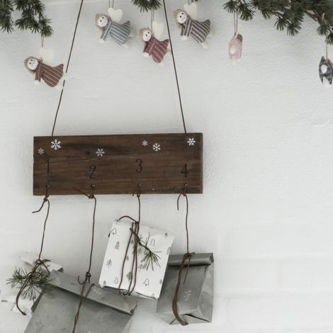 IB LAURSEN Geschenktüte Christmas Forest 10 Stück
