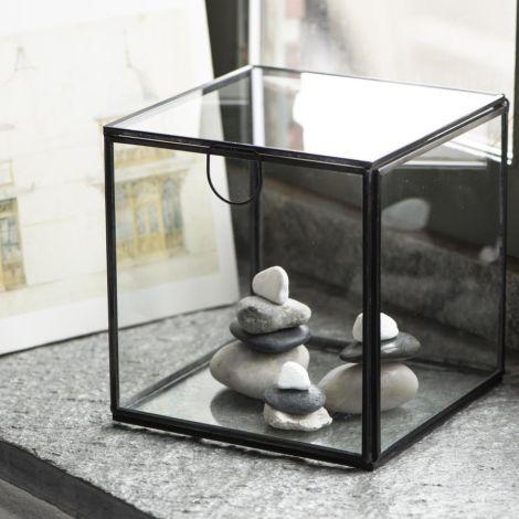 IB LAURSEN Glasbox mit Deckel quadratisch