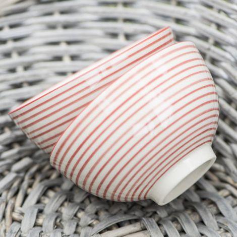 IB LAURSEN Schale Klein Stripes •