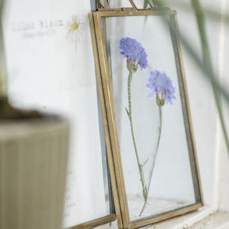 IB LAURSEN Bilderrahmen Glas Foto: 9,5x14,5 cm Messingfarben