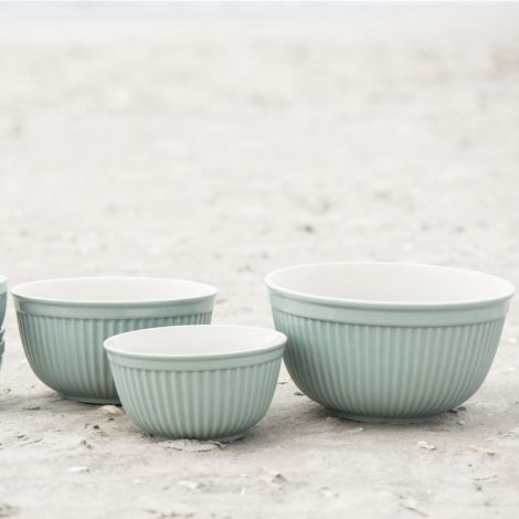 IB LAURSEN Mynte Schalen Green Tea 3er-Set