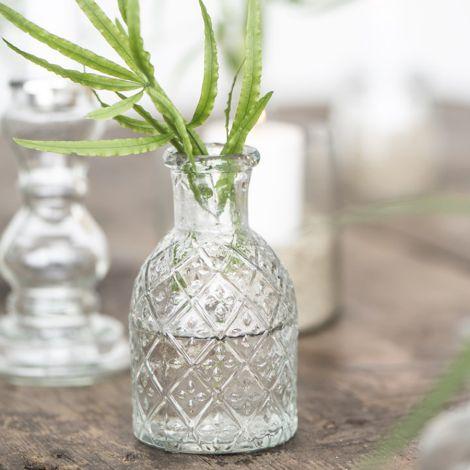 IB LAURSEN Vase Apothekerglas Harlekin