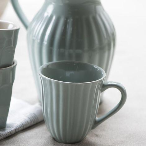 IB LAURSEN Tasse mit Rillen Mynte Green Tea