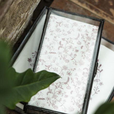 IB LAURSEN Glasdose mit Deckel 21,5 cm