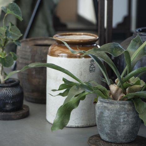 IB LAURSEN Gefäß Keramik UNIKA 23 cm