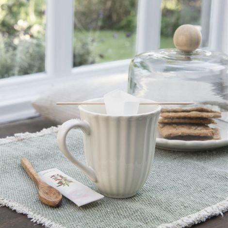IB LAURSEN Becher Rillen Mynte Butter Cream