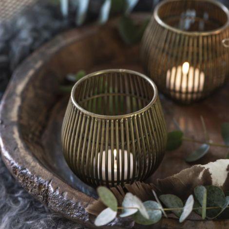 IB LAURSEN Teelichthalter Metall
