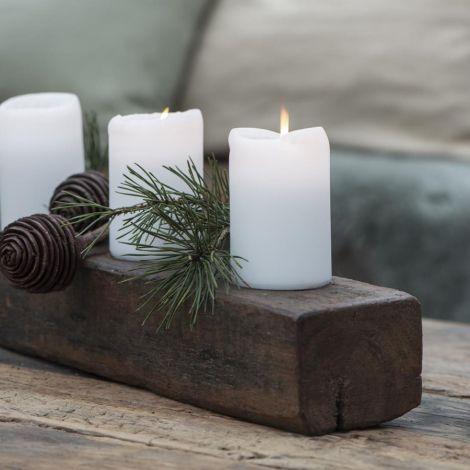 IB LAURSEN Kerzenhalter für 4 Stumpenkerzen UNIKA