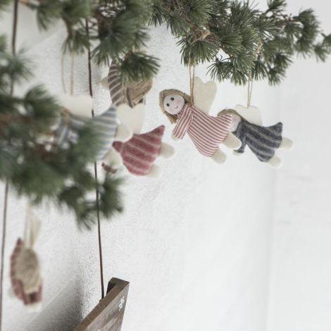 IB LAURSEN Anhänger Engel My Nostalgic Christmas 6er-Set