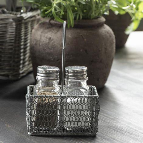 IB LAURSEN Korb für Salz- und Pfefferstreuer