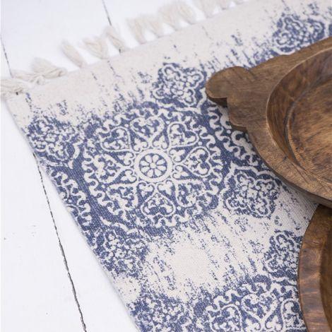 IB LAURSEN Matte Blaues Muster •