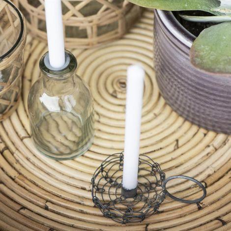 IB LAURSEN Kerzenhalter für schmale Kerze Filigran