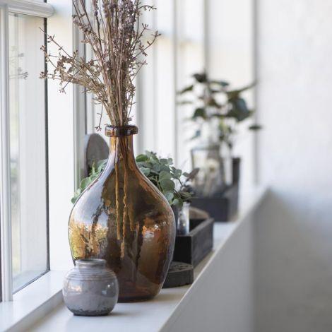 IB LAURSEN Vase Mini krakeliert Grau