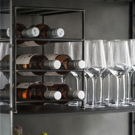 IB LAURSEN Weinregal Brooklyn für 9 Flaschen •