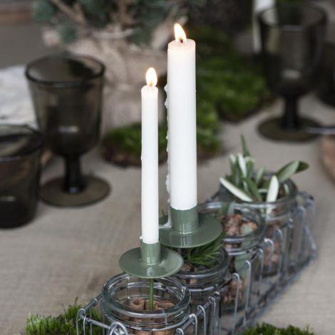 IB LAURSEN Kerzenhalter-Spiess für schmale Kerze Flaschenstecker