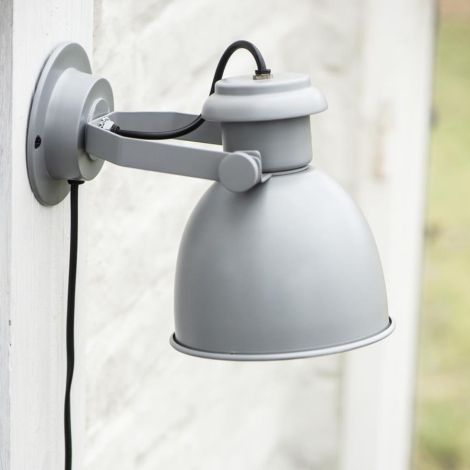 IB LAURSEN Wandlampe Grau