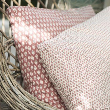 IB LAURSEN Sitzkissenbezug Faded Rose mit Muster 45x45 cm