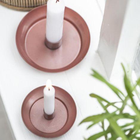 IB LAURSEN Kerzenhalter für schmale Kerze Faded Rose