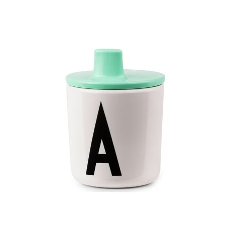 Design Letters Trinkaufsatz für Melamin Becher Grün