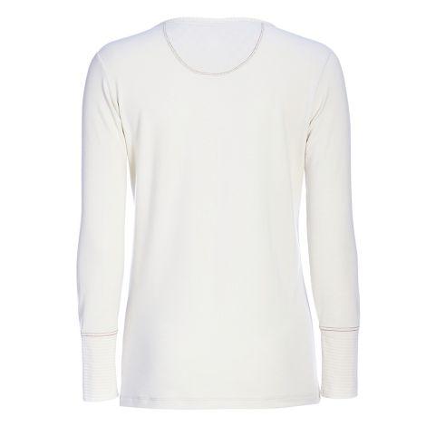 PIP Studio Langarm-Shirt Trix Uni Melee Off White