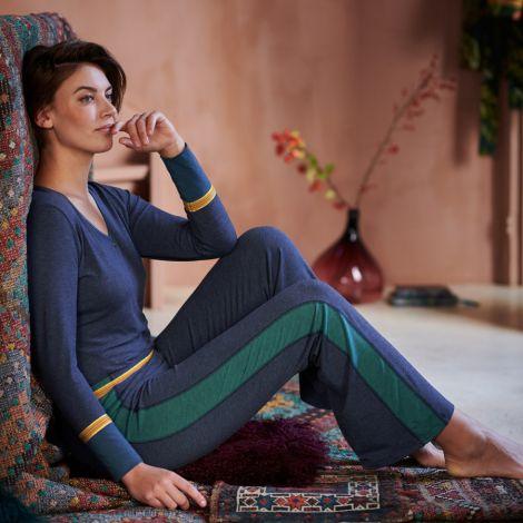 PIP Studio Langarm-Shirt Trix Melee Blue L