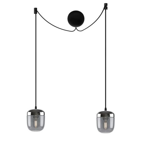 UMAGE - VITA Copenhagen Lampenschirm für Deckenlampe Acorn Smoked Steel