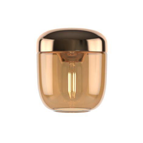 UMAGE - VITA Copenhagen Lampenschirm für Deckenlampe Acorn Amber Brass