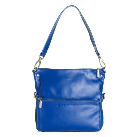 Sticks and Stones Ledertasche Valencia Cobalt •