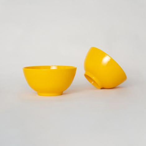 Veark Melaminschüssel Yellow 6er-Set