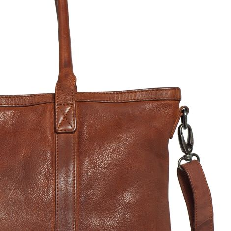 Sticks and Stones Ledertasche Victoria Mustang Brown