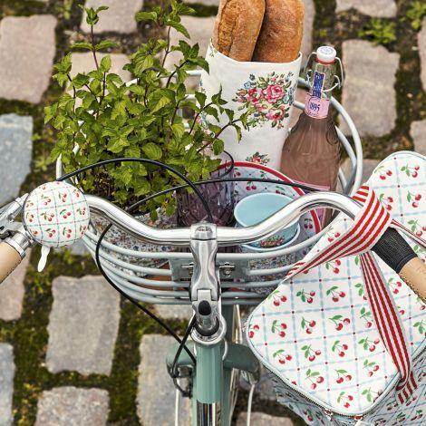 GreenGate Melamin Teller Cherie White 20 cm