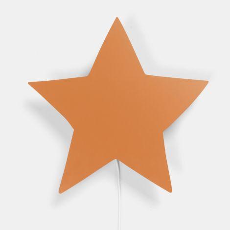 ferm LIVING Wandlampe Star Mustard