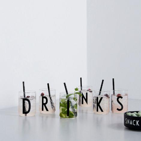 Design Letters Wasserglas B