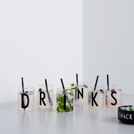 Design Letters Wasserglas N