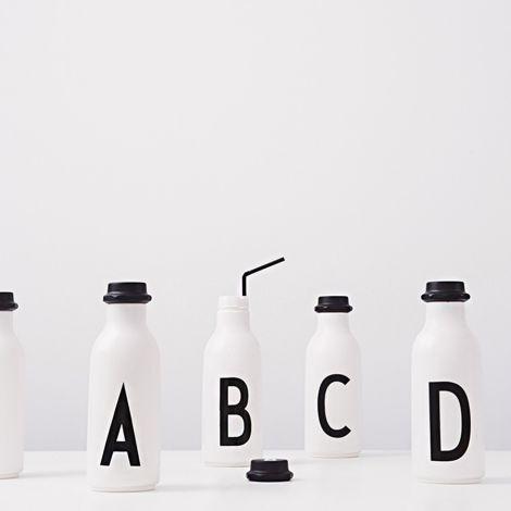 Design Letters Wasserflasche D •